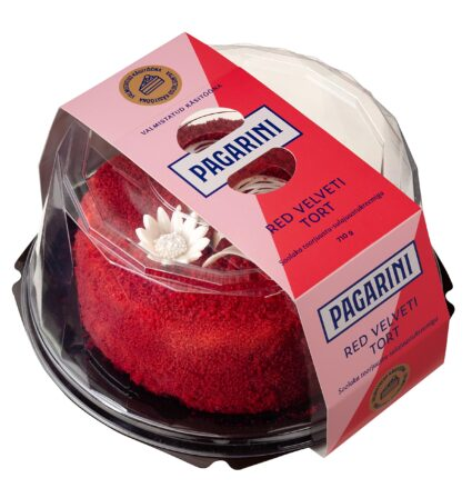 Pagarini red velvet tort 710 g