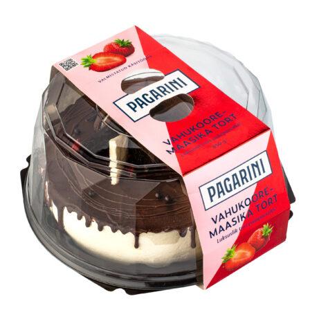 Pagarini vahukoore-maasikatort
